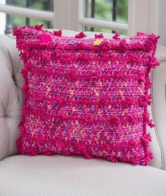 Free Posh Pillow Crochet Pattern