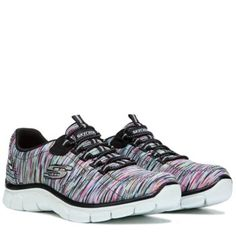 Skechers Women's Empire Game On Relaxed Fit Slip On Sneaker at Famous Footwear