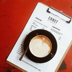 Espresso + Milk. Ernst Kaffeeröster Köln.