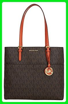 89f72d9db7e3 Michael Michael Kors Bedford Signature Large Satchel - Top handle bags (* Amazon Partner-Link)