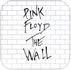 Pink Floyd The Wall Album Cover Art - Art has long been recognized as a powerful means by. Therefore, art could be interpre Pink Floyd Album Covers, Pink Floyd Albums, Rock Album Covers, Classic Album Covers, Pink Floyd Wall, Pink Floyd Poster, Wall E, Discos Pink Floyd, Imagenes Pink Floyd