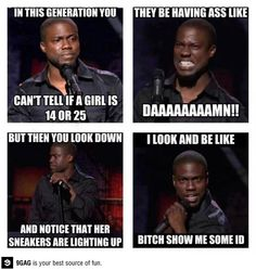 50 Trendy Funny Memes Kevin Hart Thug Life Relatable Posts meme kevin hart 50 Trendy Funny Memes Kevin Hart Thug Life Relatable Posts - Best of Memes Kevin Hart Quotes, Kevin Hart Funny, Funny Quotes, Funny Memes, Jokes, Funniest Memes, It's Funny, Memes Humor, Funny As Hell