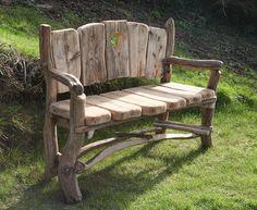 Wedding present garden seat.