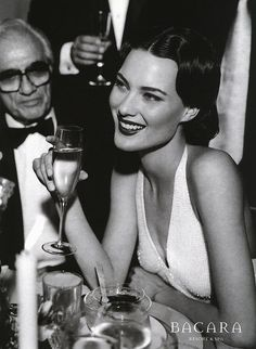 #Shalom Harlow- the very definition of elegance
