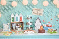 Summer Camp Birthday Party