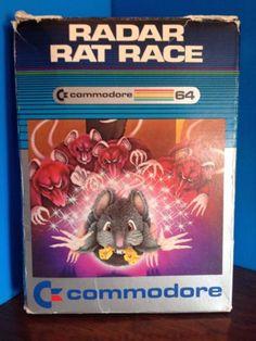 Commodore-64-Cartucho-Radar-Rat-Racer-juego