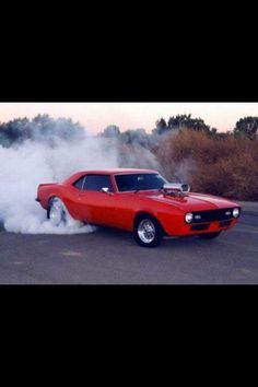 67 Camaro burnout!!!