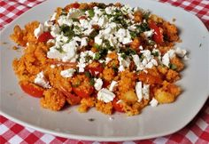 Paradicsomos kuszkusz My Favorite Food, Favorite Recipes, Good Food, Yummy Food, Other Recipes, Food For Thought, Italian Recipes, Food Inspiration, Lunches