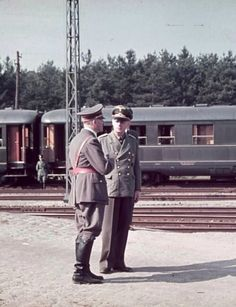 Adolf Hitler with Joachim von Ribbentrop