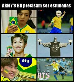 33 Ideas Brazilian Memes Bts - Makeup Tips Lips Bts Memes, Bts Meme Faces, Funny Memes, Foto Bts, K Pop, Shawn Mendes Memes, Memes In Real Life, Bts Imagine, Bts And Exo
