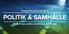 Cision lanserar ny distributionskanal med inriktning på politik och samhälle http://bit.se/QBpA1m