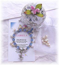 tooth fairy charm bracelet/poem