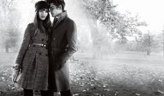 You are interested in Sam Riley for Burberry? Fashion ads, pictures, prints and advertising with Sam Riley for Burberry can be found here. Winter Photography, Couple Photography, Photography Photos, Engagement Photography, Engagement Pics, Couple Posing, Couple Shoot, Smart Attire, Sam Riley
