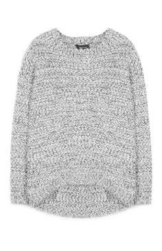 Primark - Jersey de punto grueso gris 14€