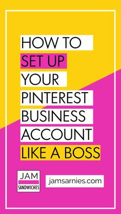 Follow this step-by-step beginners guide to setting up a Pinterest business account today and start getting free traffic to your website. #pinterest