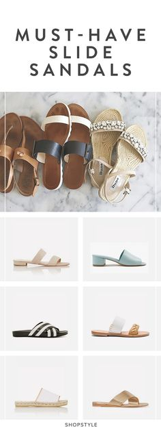 Ease into sandal season with your favorite pair from our top picks.
