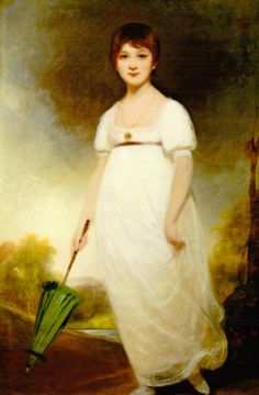 """Jane Austen as a little girl. When she was twelve, she wrote two books, """"First Impressions"""" and """"Elinor and Marianne"""". When she was older, she reworked them into her two most famous novels, """"Pride and Prejudice"""" and """"Sense and Sensibility""""."""