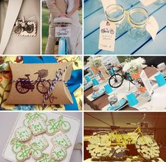 Vintage bicycle ideas for your wedding!