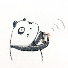 【一日一大熊猫】 2015.3.24 Wi-Fiは野良電波に注意だって。 盗聴や情報の筒抜とか危険性があるみたいだよ。 登録不要な野良電波には むやみに接続しないほうがよさそうだ。 #野良電波