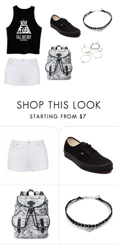 """""""Fall out boy concert!!"""" by hippiekhai on Polyvore featuring Ally Fashion, Vans, Candie's and Forever 21"""