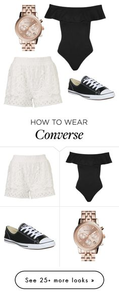 """""""wishing for summer"""" by ritakz on Polyvore featuring Topshop, Converse and MICHAEL Michael Kors"""
