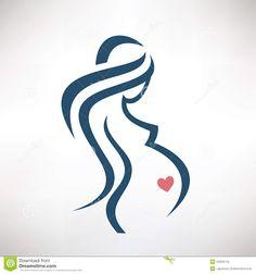 pregnancy logo - Buscar con Google