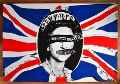 Jamie Reid_God Save The Queen