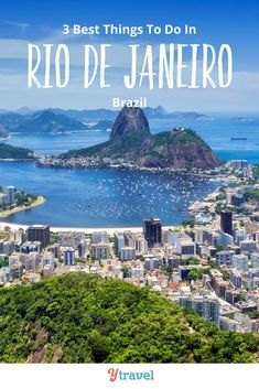 Planning to visit Rio De Janeiro? Here are 3 of the best things to do in Rio De Janeiro, plus 3 of the best restaurants in Rio, and 3 of the best hotels in Rio De Janeiro. Don't visit Brazil on your South America vacation until you have read this Rio travel guide! #Rio #Brasil #Brazil #RioDeJaneiro #Braziltravel #SouthAmericatravel #vacation