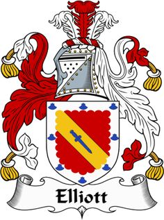 elliott family crest | IrishGathering - The Elliott Clan Coat of Arms (Family Crest) and ...