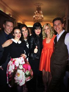 Pauley Perrette, Emily Wickersham, Brian Dietzen with Daniela Ruah from NCIS:Los Angeles