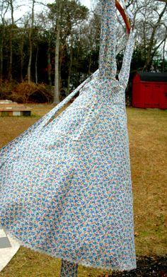 Handmade Cotton Apron with RickRack Trim by MyVintageHomestead, $25.00 Rickrack, Aprons Vintage, Love Sewing, Tea Towels, Frocks, Aprons, Rick Rack, Dish Towels, Kitchen Towels