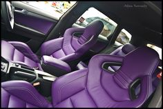 Audi A3 SportsBack + Audi RS4 seats