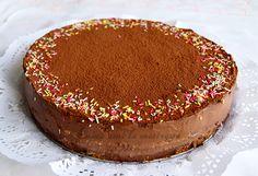 Cuina amb la mestressa: Tarta de galletas con dos chocolates y/o Mona de Pascua