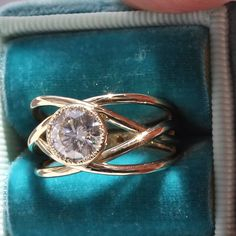 Golden Girl Ring - Custom Design More and more women are custom designing rings for themselves, not just for marriage but for their accomplishments, themselves! This special custom design ring is crafted for one of our team members. Diamond Wedding Bands, Diamond Rings, Gold Rings, Diamond Studs, Oval Rings, Wide Rings, Rings For Girls, Wedding Rings For Women, Custom Wedding Rings