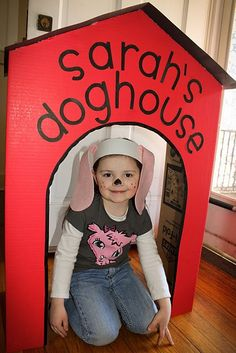 Puppy Party Ideas - Design Dazzle **** We made this for Gwyneth for her third birthday. It was awesome!