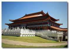 At first glance of the Nan Hua Buddhist Temple and its surrounds, you'd be forgiven for thinking you were in China instead of the Highveld