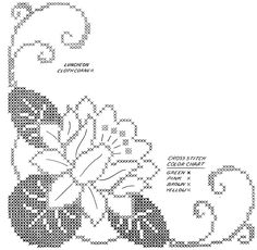 91 WB b - frieda Cross Stitch Borders, Cross Stitch Rose, Cross Stitch Flowers, Cross Stitch Designs, Cross Stitching, Cross Stitch Embroidery, Embroidery Patterns, Hand Embroidery, Cross Stitch Patterns