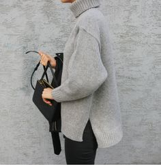 Photo (Death by Elocution) Death By Elocution, Winter Looks, Chic Minimalista, Fashion Gone Rouge, Style Minimaliste, Fade Styles, Dressing, Minimal Fashion, Sweater Weather