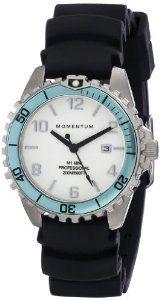 Momentum Women's 1M-DV07WA1B M1 Mini Analog Display Japanese Quartz Black Watch