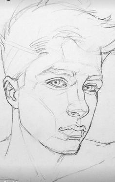Portrait Sketches, Portrait Art, Drawing Sketches, Art Drawings, Portraits, Perspective Drawing Lessons, Alexander Arnold, Beautiful Sketches, Realistic Drawings