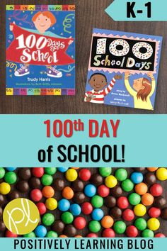 Read more about how we celebrate the 100th Day of School in our Guided Reading small groups and grab this word work freebie for kindergarten and first grade! From Positively Learning Blog