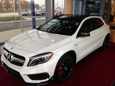 You may like to play in the cold outside, but you can stay warm this winter in the New 2015 GLA.