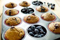 Dinkel-Muffins mit Heidelbeeren