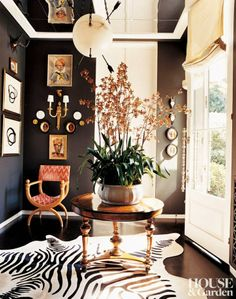 the little black door: pointed in the right direction - arrows in design
