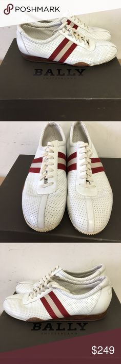 Bally Switzerland Men's Sneakers Size 11.5 Frenz Bally Switzerland Men's Sneakers Size 11.5 Frenz Inventory # 6025-13 Everything we sell is 100% guaranteed authentic! We are Meta Exchange, a resale store in Baton Rouge, LA! Sorry, no trades. REASONABLE offers will be considered. We ship same/next day. Thanks! Bally Shoes Sneakers