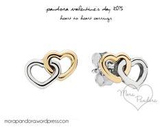 pandora valentine's earrings #PANDORAvalentinescontest