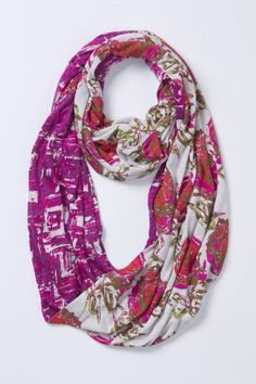 Pattern Duet Loop - Anthropologie.com