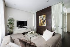 Minimalist Apartment With a Strong Design Rhythm by Alexandra Fedorova - http://freshome.com/2013/10/02/minimalist-apartment-with-a-strong-design-rhythm-by-alexandra-fedorova/