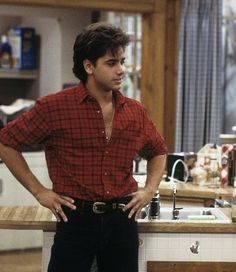 John Stamos Young, Young John, Tio Jesse, Jesse From Full House, Full House Funny, Fuller House, Chuck Bass, Actrices Hollywood, Fine Men