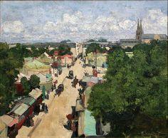 Foire aux Invalides - Henri Evenepoel , 1897 Belgian 1872-1899 Oil on canvas